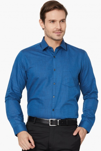 MAX Dobby Textured Full Sleeves Shirt