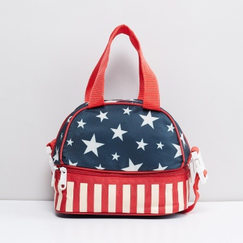 MAX Spangled Star Printed Lunch Bag