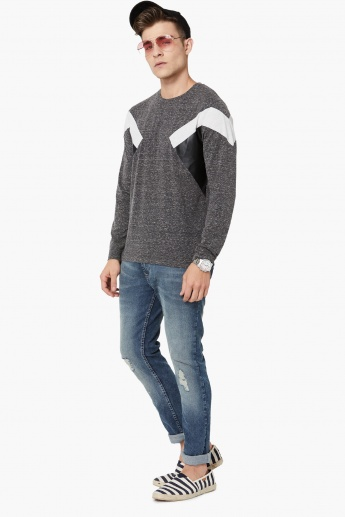 MAX Panelled Full Sleeves T-Shirt