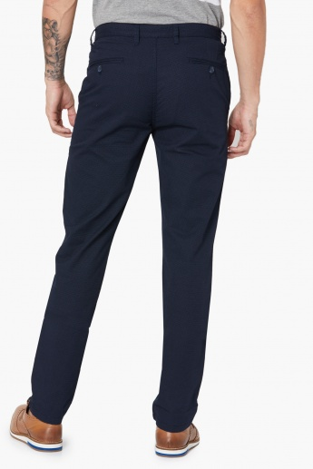MAX Textured Flat Front Pants