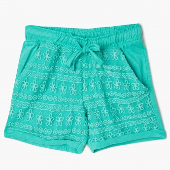 MAX Floral Lace Detailed Shorts