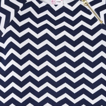 MAX Chevron Print Top