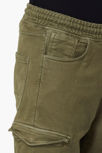 MAX Solid 5-Pocket Joggers