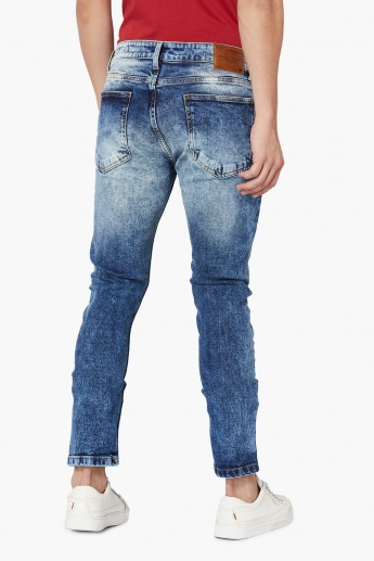 MAX Low-Rise Dark Wash Skinny Jeans
