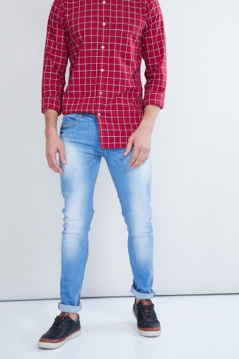 MAX Stone-Wash 5-Pocket Jeans
