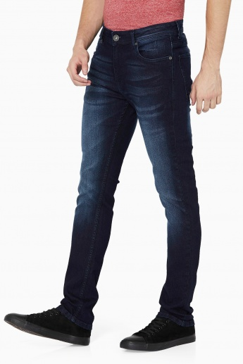MAX Dark Wash 5-Pocket Jeans