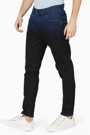 MAX Dark Wash Dyed 5-Pocket Jeans