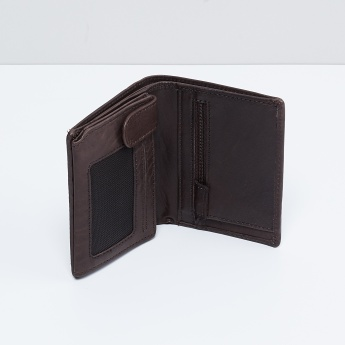 MAX Men Solid Leather Wallet