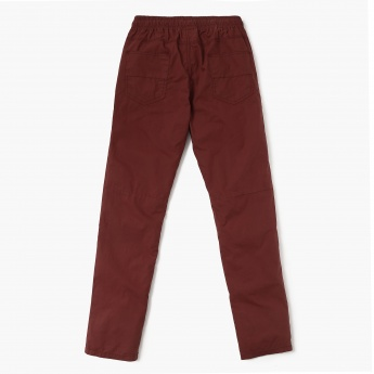 MAX Elasticated Waist Straight Cut Pants