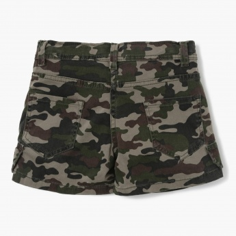 MAX Camouflage Printed Shorts