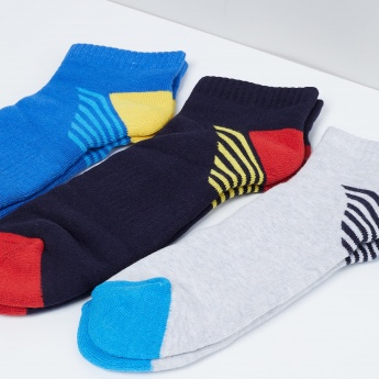 MAX Knitted Anklet Socks - Pack of 3 Pcs.