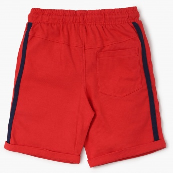 MAX Patchworked Knitted Shorts