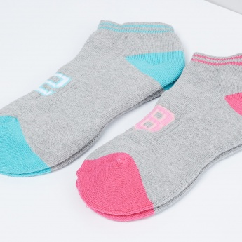 MAX Colourblock Anklet Socks - Pack of 2 Pcs.