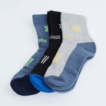 MAX Jacqaurd Knitted Socks- Set of 3 Pcs.