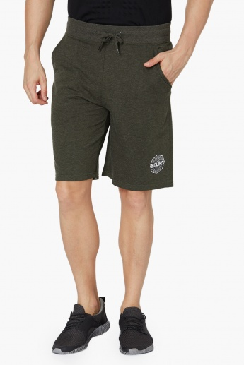 MAX Solid Drawstring Training Shorts