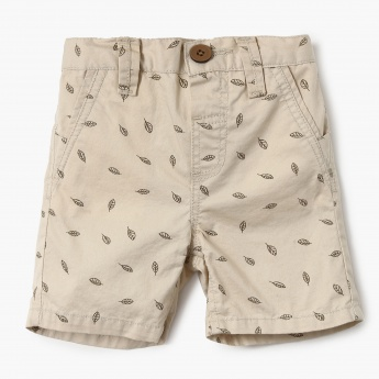 MAX Printed Denim Shorts