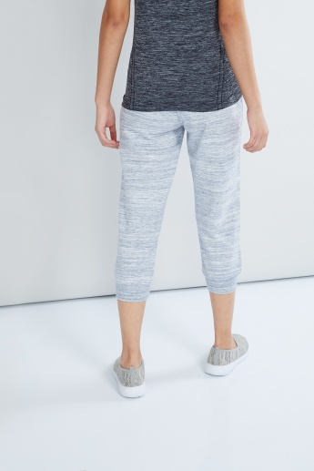 MAX Melange Knitted Training Capris