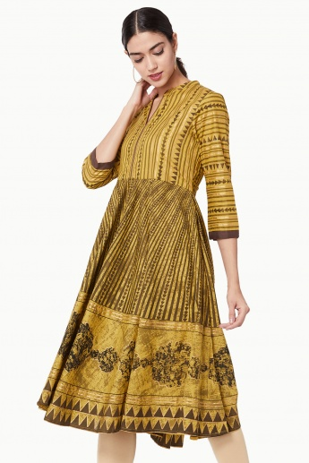 MAX Printed Flared Kurta