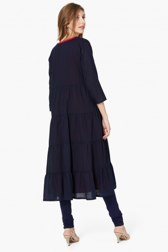 MAX Open-Front Tiered Kurta