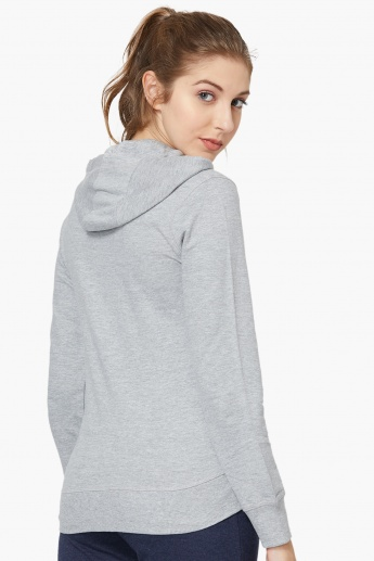 MAX Solid Hoodie with Kangaroo Pockets