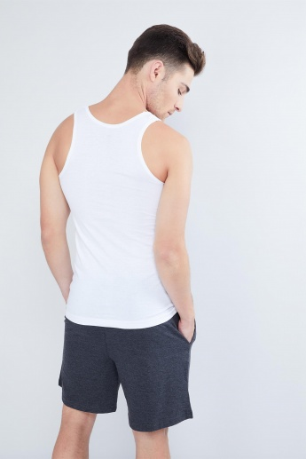 MAX Sleeveless Cotton Vest Set- 2 Pcs.
