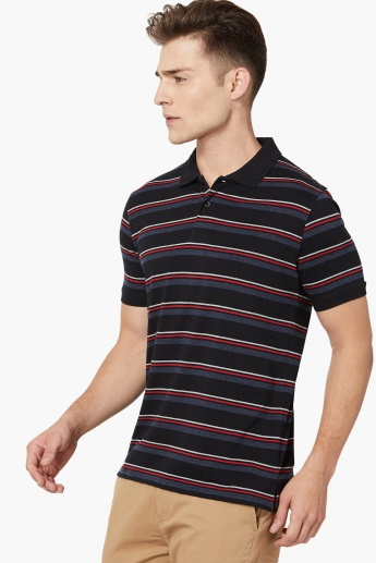 MAX Striped Polo T-shirt