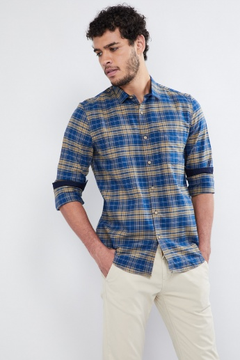 MAX Checked Long-Sleeve Shirt