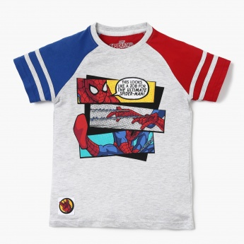 MAX Comic Graphic Print T-Shirt