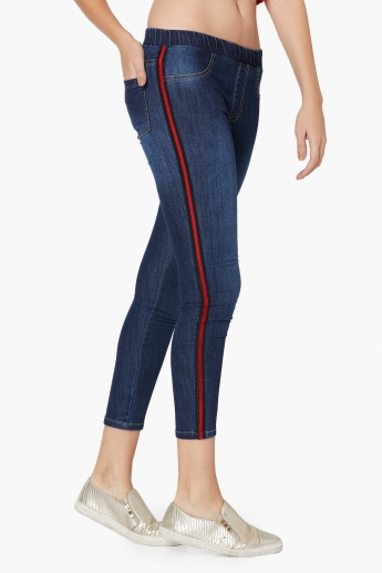 MAX Skinny Fit Cropped Jeggings