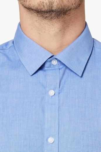 MAX Solid Fil-A-Fil Formal Shirt