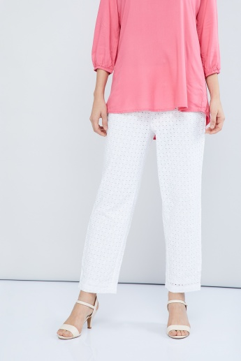 MAX Ankle-Length Lace Pants