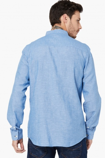 MAX Cotton-Linen Slub Shirt