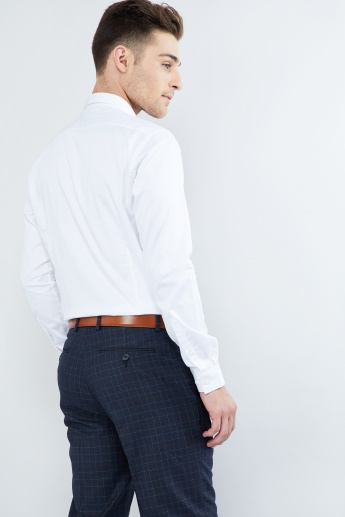 MAX Cotton Stretch Solid Shirt