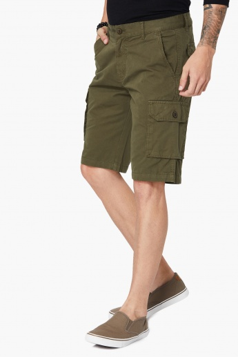 MAX Cargo Straight Cut Shorts