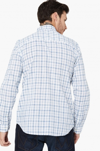 MAX Checked Cotton Formal Shirt