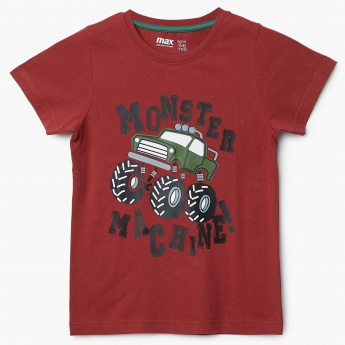 MAX Monster Machine Graphic Print T-Shirt