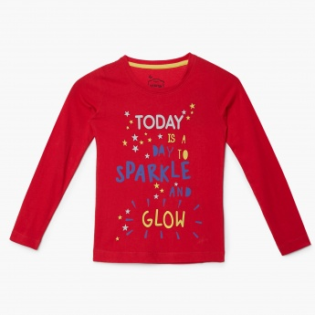 MAX Sparkle Day Printed T-Shirt