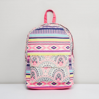 MAX Aztec Print Backpack