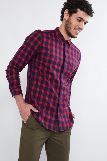 MAX Checked Full-Sleeve Shirt