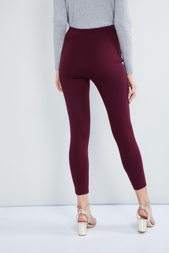 MAX Panelled Ankle-Length Pants