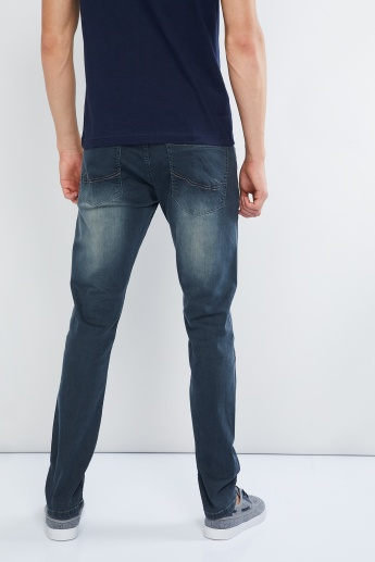 MAX Acid Wash Slim Fit Jeans