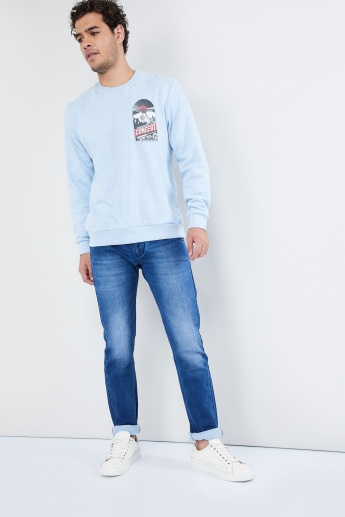 MAX Graphic Print Sweatshirt