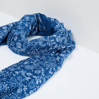 MAX Floral Print Scarf