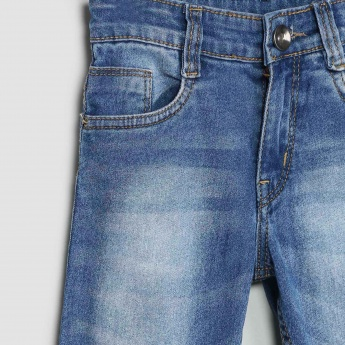 MAX Stone-Washed Slim Fit Jeans