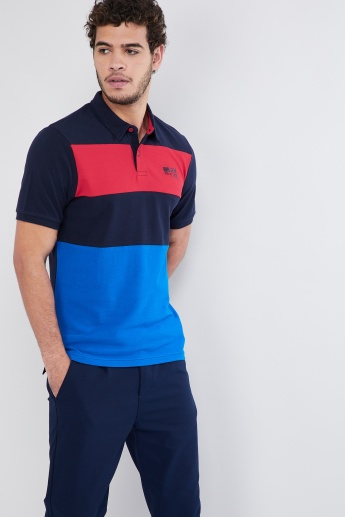 MAX Colourblock Polo T-shirt