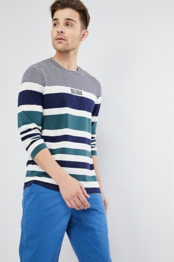 MAX Striped Long Sleeve T-shirt