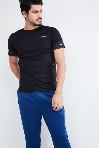 MAX Panelled Running Crew Neck T-shirt