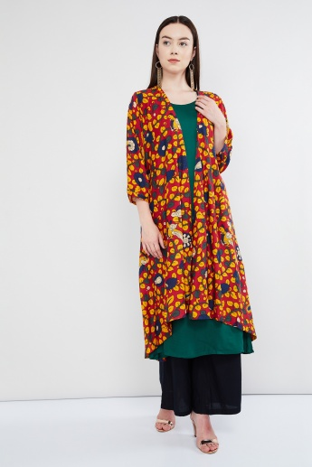 MAX Printed Layered Maxi Kurta