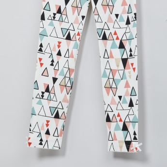 MAX Geometric Print Leggings