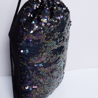 MAX Sequined Rope Bag